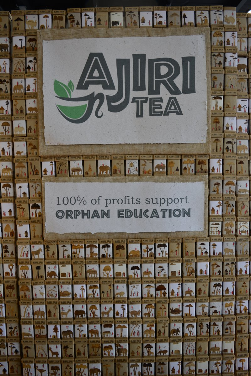 Coffee from Kenya. Ajiri means to work in Swahili